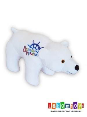 Мишка с логотипом