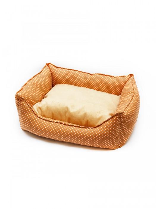 Лежак с подушкой