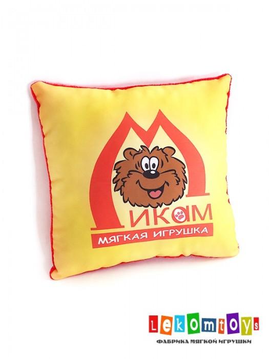 Подушка с логотипом фирменная